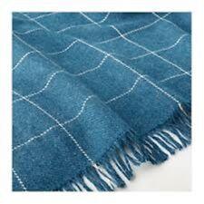 IKEA Varkrage BLUE Checked Throw Blanket 170 x 110cm 803.522.96 NEW