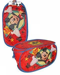 Wäschekorb, Wäschesack,Disney,Mickey Maus,Kinder,Aufbewahrungsbox,Ordnung;