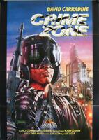 Crime Zone Die Hölle auf Erden Filmposter A1 Videoplakat David Carradine, Fenn