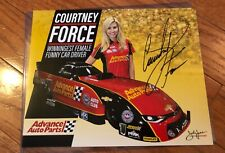 COURTNEY FORCE AUTHENTIC HAND SIGNED AUTO 8x10 PHOTO