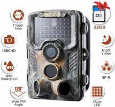 20MP 1080P Wildkamera 940nm IR-LEDs 0.2S Jagdspielkamera Wasserdichter IP66