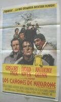 Filmplakat,Plakat,LOS CANONES DE NAVARONE,GREGORY PECK,D. NIVEN,A QUINN #145