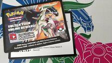 Pokemon:Cosmic Eclipse Season 3 - 4X Fiery Flint Alt Art + Sleeves 1X PTCGO Code