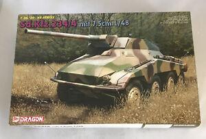 Dragon Model Kit #6814  1/35 Scale WWII Sd.Kfz.234/4 German Tank '39-'45 (A)
