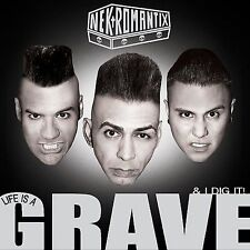 New PROMO SLIPCASE CD Nekromantix: Life Is a Grave & I Dig It (Dig)