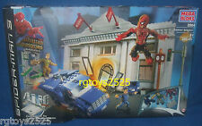SPIDERMAN 3 Mega Bloks Sandman Bank Heist New 285 pieces Factory Sealed 2004