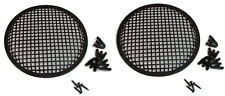 """2 Pack Penn Elcom G10 Speaker Grill With Mounting Hardware for 10"""" Sub Woofers"""