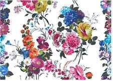 Designers Guild Fabric linen floral AMARAPALI PEONY soft furnshing curtain blind