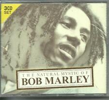 BOB MARLEY - THE NATURAL MYSTIC OF on 3 CD'S - NEW -