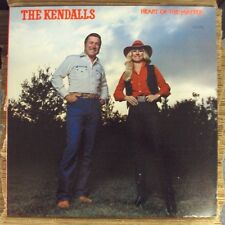 KENDALLS Heart Of The Matter LP OOP late-70's country Ovation