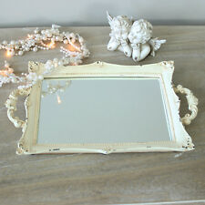 distressed cream vanity tray shabby french style vintage chic dressing table