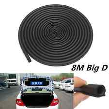 26Ft 800CM Car Truck Motor Door Big D-shape Rubber Seal Weather Strip OEM Hollow
