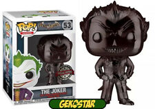 The Joker Black Chrome - Arkham Asylum Funko Pop Figure
