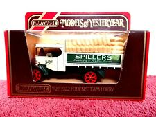 MATCHBOX MODELS OF YESTERYEAR Y27 1922 FODEN STEAM LORRY 1984 [SPILLERS]