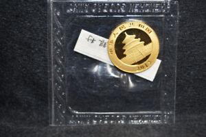 China 2013 Gold 1/10 oz Panda 50 Yuan Original Mint Sealed - Free US Shipping