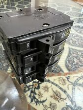 Square D circuit breaker, 20 amp, type Qo, 120/240Vac, 1 pole, snap in, used