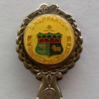 Shepparton Coat Of Arms Souvenir Spoon Teaspoon (T158)