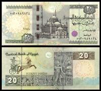 EGYPT EGIPTO 20 POUNDS 2016 REPLACEMENT 800  SIGNATURE AMER P.65* UNC