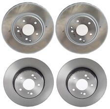 Brembo Front and Rear Brake Disc Rotors Kit for Mercedes C208 W210 CLK430 E320