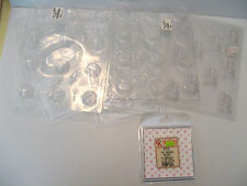 Plastic Candy Soap Mold Lot BRIDE & GROOM EASTER BON BON BUTTERCUP FOIL WRAPPER