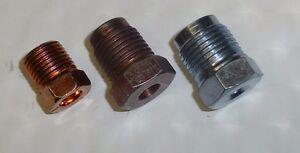 NOS Mopar Master Cylinder Brake Hydraulic Flare Fitting Kit Dual Master Cyl Swap