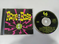 RAVE THE BASS VOL 1 - CD 1992 GERMAN EDITION DANCE FACTORY XTC CBF OFF-BEAT
