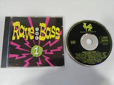 RAVE THE BASS VOL 1 - CD 1992 GERMAN EDITION DANCE FACTORY XTC CBF OFF-BEAT