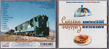 CD CUISINE AMERICAINE BOF RENE MARC BINI DE J.Y. PITOUN AVEC EDDY MITCHELL 1999