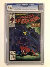 AMAZING SPIDER-MAN #305 CGC 9.6 McFarlane cover, App by Johnny Carson Ed McMahon