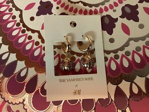 THE VAMPIRES WIFE X HM LADYBIRD EARRINGS AND GIFT BAG