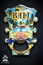 Hard Rock Cafe Bali Hotel City Headstock Bottle Opener Magnet 2014