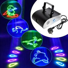 Animation Laserlicht Lasereffekte Bühnenlicht RGB DMX Show Club Disco Dekor Lamp