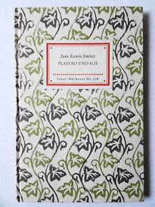 Insel-Bücherei. Nr. 578, Juan Ramon Jimenez PLATERO UND ICH. Andalusische Elegie