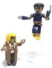 "Minimates Lot 2 X-Men Ultimate Avengers Wolverine & Sabertooth 2.25"" Mini Figure"