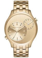 NEW Armani Exchange AX2176 HXLP Women's Gold Analog Quartz Watch