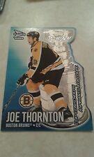 2002-03 Prism Platinum Cup Contenders Die Cut Joe Thornton Card 1 ....1700 More
