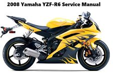 yamaha yzf r6 repair motorcycle manuals and literature for sale ebay rh ebay com 2009 yamaha yzf r6 owner's manual 2001 Yamaha YZF R6