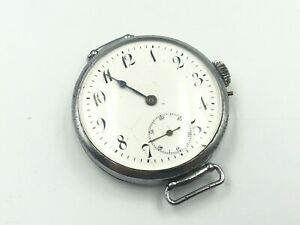 Vintage Military Trench WWI Wrist Watch Swiss Made