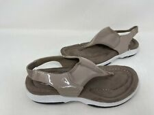 A/M by Ann Marino Women's Slingback Thong Sandals FlipFlop Comfort Taupe 146N mz