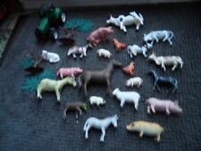 Lot jouet figurine ferme  animaux tracteur