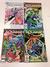 Aquaman #1 2 3 4 1986 mini series