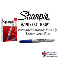 Sharpie Red Permanent Marker Fine Pack of 12 S0810940