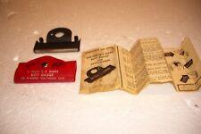 "Vintage E-Z Mark 3"" Butt Gage Original Case with instructions rare"