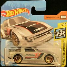Hot Wheels Mazda RX-7 #167 SILVER 2019 new on short card