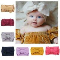 Baby Girls Headband Toddler Lace Bow Flower Hair Band Headwear I5X7 Cute Ac H5T1