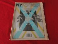 Vintage Rock N Roll Newspaper Magazine NY Rocker Sept. 1980 Beach Punks      P15