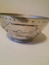 Pewter Bowl Nick Munro Royal Selangor A Whale of a Time. The Ark Whale