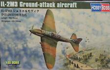 WWII RUSSIAN IL-2M3 STURMOVIK HOBBY BOSS 1:32 SCALE PLASTIC MODEL AIRPLANE KIT