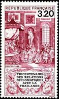 """FRANCE STAMP TIMBRE N° 2393 """" RELATIONS DIPLOMATIQUES THAILANDE """" NEUF xx LUXE"""