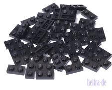 LEGO - 50 x Basic - Platte 1x2 schwarz / Black Plate 1 x 2 / 3023 NEUWARE